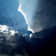 Dramatische Cumulusnimbus Wolken über Pforzheim 4